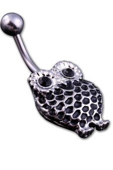 Owl Belly Button Ring (Black) Price Philippines