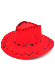 Amango Unisex Hat Cowboy Knight Western Visor Red Price Philippines