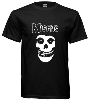 Fan Arena Band Series The Misfits T-shirt (Black) Price Philippines
