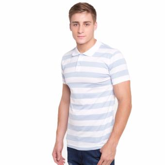 Harga Newyork Army Bengal Stripes Men's Polo Shirt - Light Mint
