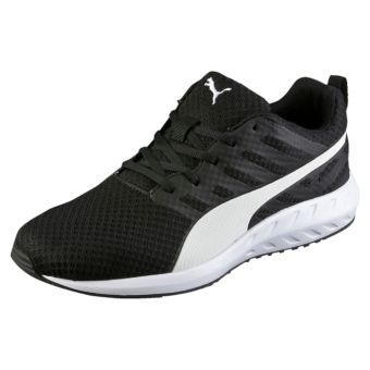 Harga Puma Flare Mesh Men's Running Shoes ( Black/ White)