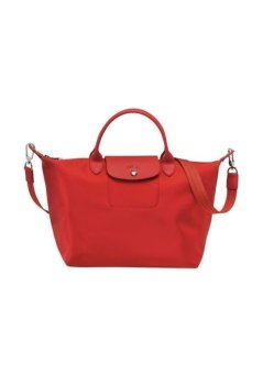 Harga Longchamp Le Pliage Neo Medium Short Handle Bag (Red)