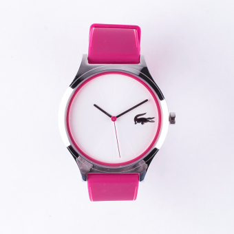 Lacoste Nikita Women's Pink Silicone Strap Watch 2000943 Price Philippines