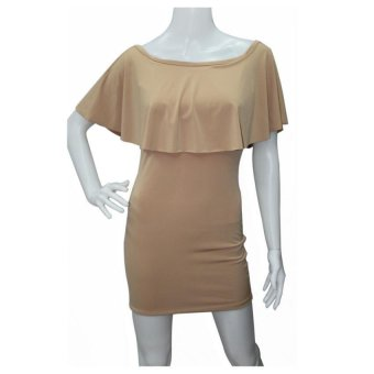 Harga Marian Bodycon Dress (Beige)