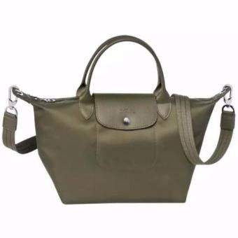 Longchamp Le Pliage Neo Small Handbag (Moss Green) Price Philippines
