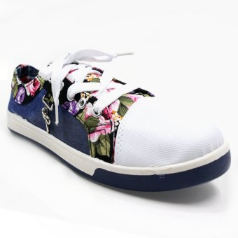 New York Sneakers Sassy Denim Floral 001(BLUE) Price Philippines