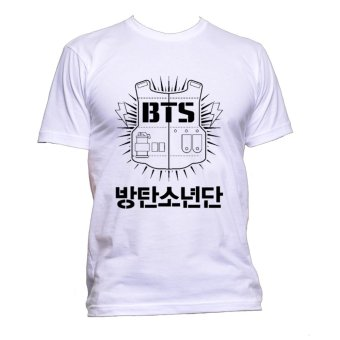 Fan Arena BTS Inspired T-shirt (White) Price Philippines