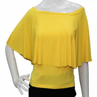 Harga Marian Off Shoulder Top (Yellow)