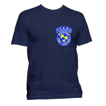 Fan Arena Resident Evil Inspired S.T.A.R.S T- shirt (Navy Blue) Price Philippines