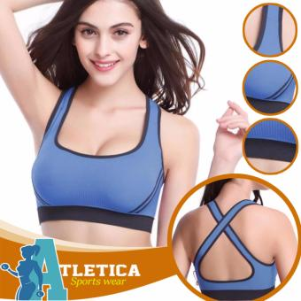 Atletica Fitness Seamless Active Sports Bra (Light Blue) Price Philippines