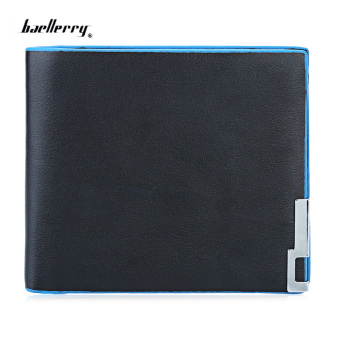 Baellerry Pure Color Short Open Cash Photo Card Wallet(Horizontal) Price Philippines