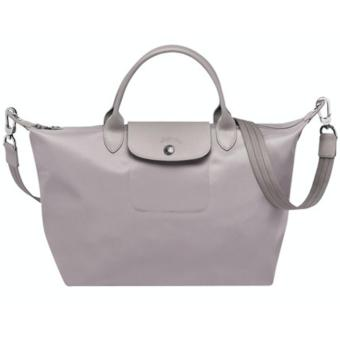 Longchamp Le Pliage Neo Medium Handbag (Light Gray) Price Philippines