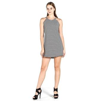 PENSHOPPE Trapeze Dress With Back Detail (Black) Price Philippines
