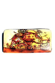 Harga Vintage Paris Peinture Leather Wallet