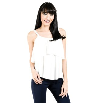 Jasmin Collection Fashion Haus Lena Spaghetti 1 Top (White) Price Philippines
