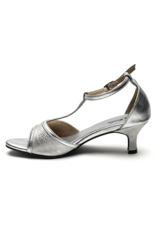 Harga Ohrelle Rhea T-Strap Sandals (Silver)