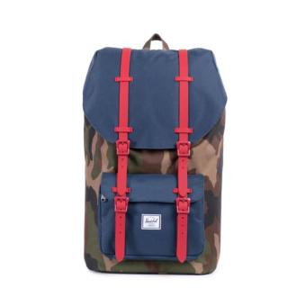 HERSCHEL SUPPLY CO. LITTLE AMERICA BACKPACK 25L WOODLAND CAMO RED STRAP Price Philippines