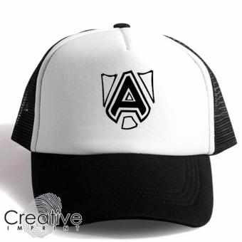Harga Creative Imprint DOTA Team Alliance Unisex Trucker Cap (Black White)