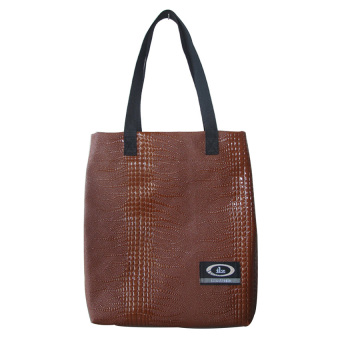 Harga ILLUSTRAZIO Hand Bag (Pure Brown)