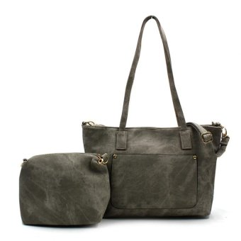 Harga Vintage Paris Versace Tote Bag (Ash Grey)