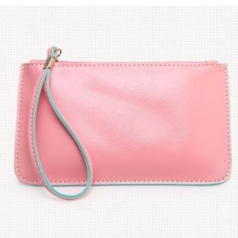 Korea candy leather pouch (Old rose) Price Philippines