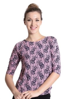 Sugar Clothing Mel 04 Long Sleeve Blouse (Pink) Price Philippines