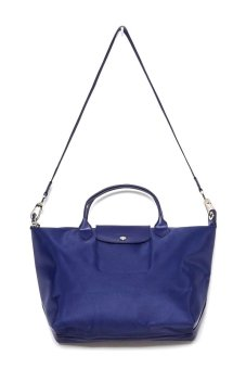 Harga Longchamp Le Pliage Neo Medium Short Handle (Navy Blue)