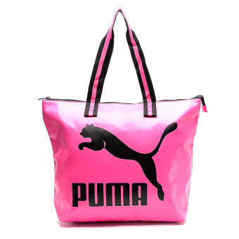Harga Puma Archive Large Shopper Bag (White/Fuchsia Purple/Graphic)