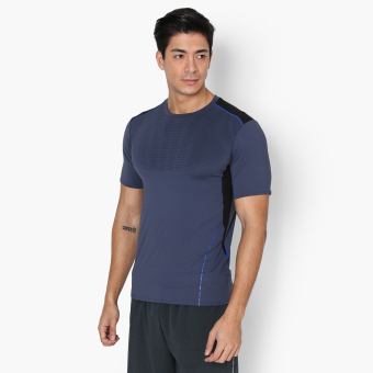 Harga Bo Athletics Mens Performance Shirt (Navy)