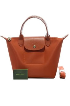 Harga Longchamp Le Pliage Neo Small Short-handle (Paprika)