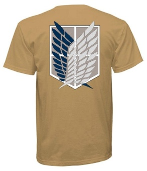 Attack On Titan Inspired Recon Corps T-Shirt (Brown) Price Philippines
