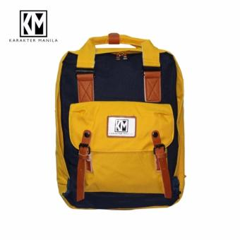 Karakter Manila candy Backpack (Yellow/Blue) Price Philippines