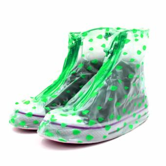 LOVE&HOME Fashion rain shoe covers (Green)-2XL Price Philippines