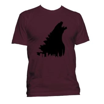 Fan Arena Godzilla Inspired T-shirt (Maroon) Price Philippines
