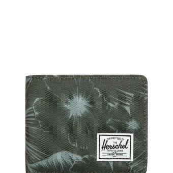 Harga Herschel Roy Wallet jungle green