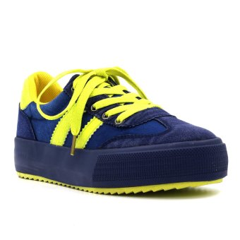 New York Sneakers Dalis Shoes (Blue/Yellow) Price Philippines