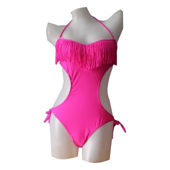 Taleson 1110 Swimwear Overall One Piece (Pink) Price Philippines