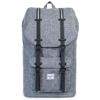 HERSCHEL SUPPLY CO. LITTLE AMERICA BACKPACK 25L RAVEN CROSSHATCH Price Philippines