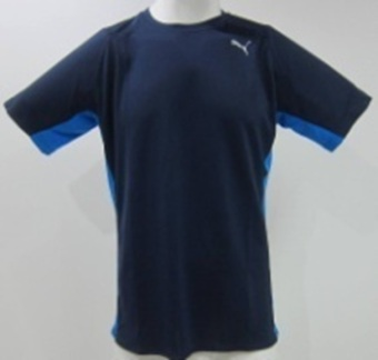 Harga Puma PE Running S/S Tee (Peacoat/Electric Blue Lemonade)