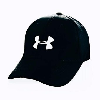 Harga Cap Mania Under Armour black