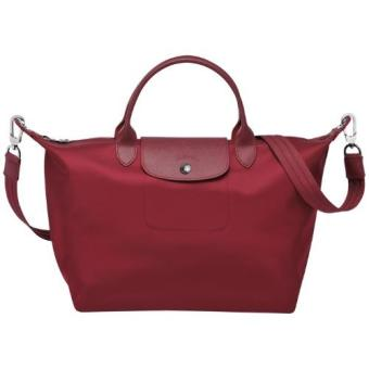 Longchamp Le Pliage Neo Medium Handbag (Maroon) Price Philippines