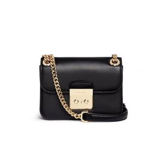 MICHAEL KORS Sloan Editor Medium Leather Shoulder Bag BLACK Price Philippines