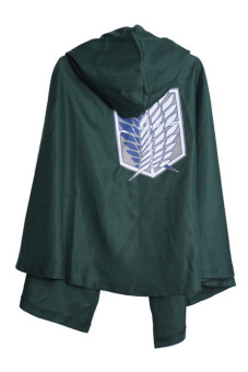 Hengsong Cloak Attack on Titan Anime Cape Cosplay Mantle Green Price Philippines