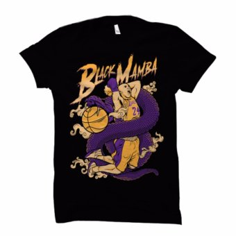 Men's NBA Basketball T-Shirt (Kobe Bryant, Black Mamba) Price Philippines