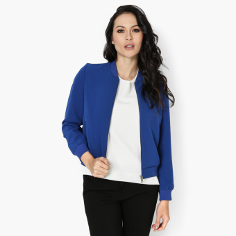 SM Woman Career Bomber Jacket (Royal Blue) Price Philippines