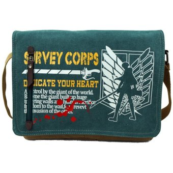 Anime Attack On Titan Canvas Messenger Shouler Bag Cosplay Collection Price Philippines