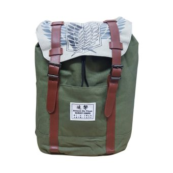 Anime - Attack on Titan Design Retreat Back Pack Price Philippines