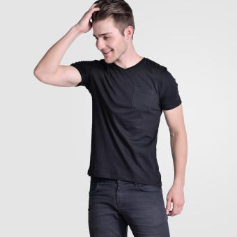 Harga Huga V-Neck Pocket Tees