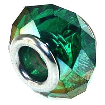 Imono Steel Jewelry 196ISP Charm (Green)
