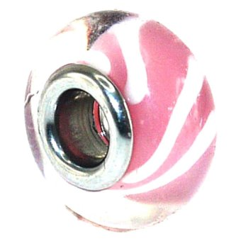 Imono Steel Jewelry 212ISP Charm (Pink)